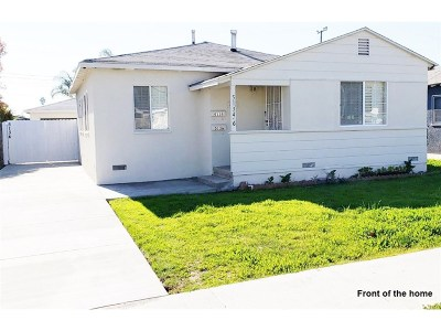 Los Angeles County Single Family Home For Sale: 5134 West 133rd Street