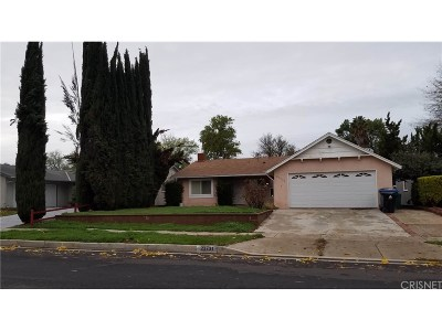 West Hills Single Family Home Sold: 23731 Hartland Street