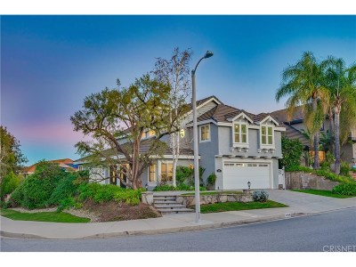Agoura Hills Single Family Home Sold: 5628 Laurel Bluff Place