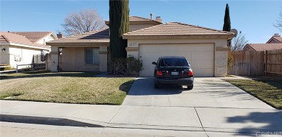 Lancaster Single Family Home For Sale: 44316 Tahoe Way