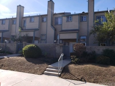 Sylmar Condo/Townhouse Active Under Contract: 13550 Foothill Boulevard #19