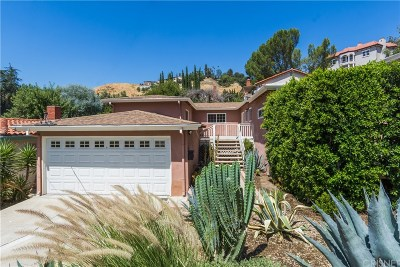 Woodland Hills Single Family Home For Sale: 5033 Clavel Court