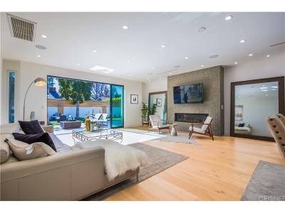 Sherman Oaks Single Family Home Active Under Contract: 13338 Albers Street