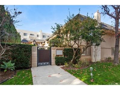 Sherman Oaks Condo/Townhouse Sold: 4435 Saugus Avenue