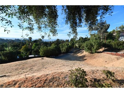 Woodland Hills Residential Lots & Land For Sale: 4544 Morro Drive
