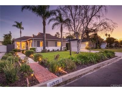 Sherman Oaks Single Family Home Sold: 14622 Otsego Street
