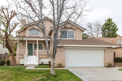 Saugus Single Family Home For Sale: 27701 Kristin Lane