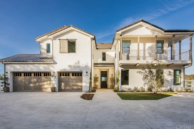 Canyon Country Single Family Home Active Under Contract: 15611 Condor Ridge Road