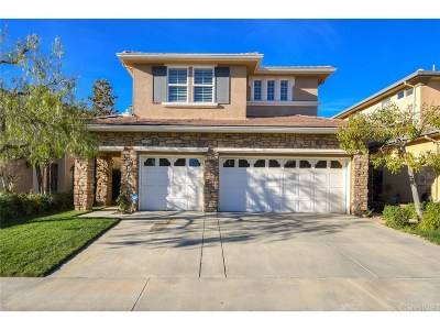 Porter Ranch Single Family Home For Sale: 20701 Campania Lane