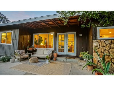 Newhall Single Family Home Active Under Contract: 23645 Newhall Avenue