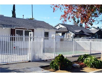 Van Nuys Single Family Home For Sale: 13830 Calvert Street