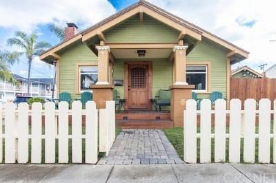 Long Beach Single Family Home Active Under Contract: 1040 Mira Mar Avenue