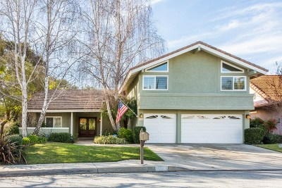 Westlake Village Single Family Home Active Under Contract: 2112 Glenhollow Street