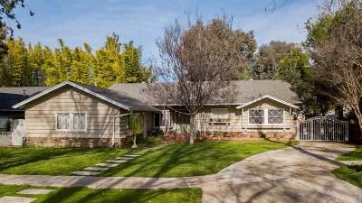 Tarzana Single Family Home For Sale: 19027 Miranda Street