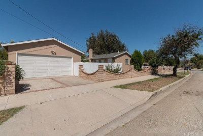 West Hills Single Family Home Sold: 22700 Cantlay Street