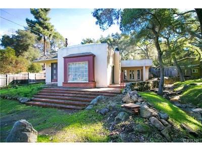 Calabasas Single Family Home Sold: 25684 Buckhorn Drive