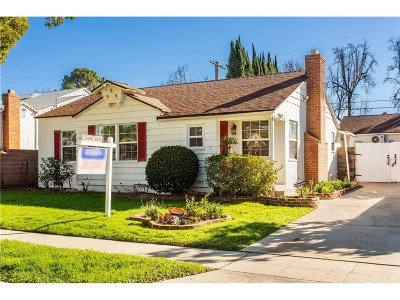 Sherman Oaks Single Family Home For Sale: 13946 Peach Grove Street