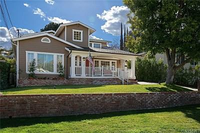 Sherman Oaks Single Family Home For Sale: 14818 Sutton Street