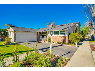 Sherman Oaks Single Family Home For Sale: 13223 Magnolia Boulevard