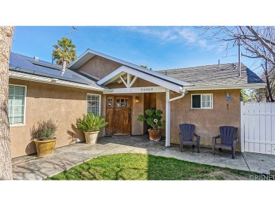 Newhall Single Family Home For Sale: 25060 De Wolfe Road