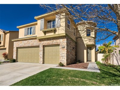 Canyon Country Single Family Home For Sale: 17225 Summer Maple Way