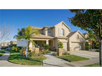 Stevenson Ranch Single Family Home For Sale: 25336 Dove Lane