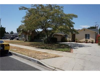 Canoga Park Single Family Home For Sale: 21007 Ingomar Street