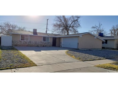 Palmdale Single Family Home For Sale: 38720 Lilacview Avenue