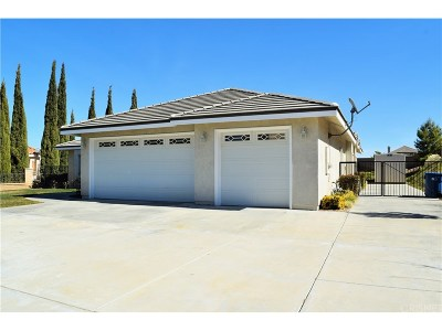Palmdale Single Family Home For Sale: 41510 67th Street West