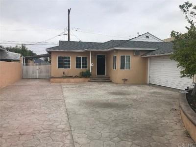 Arleta Single Family Home For Sale: 12614 Mineola Street
