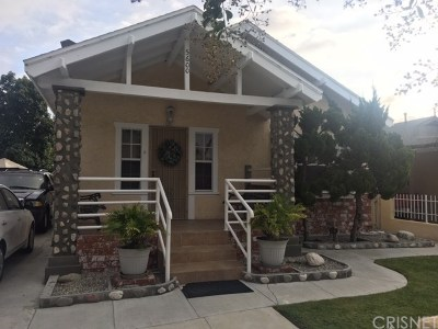Los Angeles Single Family Home For Sale: 5600 Smiley Drive