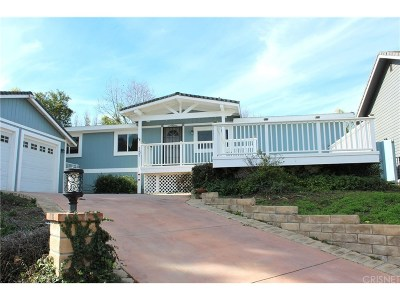 Newbury Park Single Family Home For Sale: 151 Heavenly Valley Road