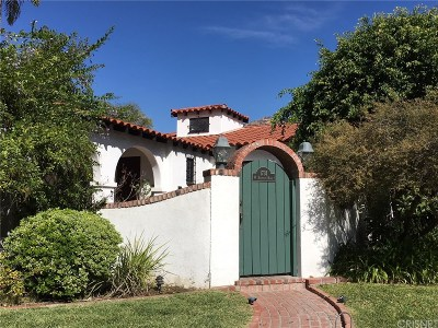 Glendale Single Family Home Active Under Contract: 1731 West Kenneth Road