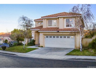 Newhall Single Family Home Active Under Contract: 25921 Santa Susana Drive
