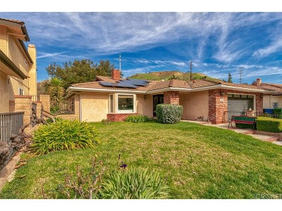 Agoura Hills Single Family Home For Sale: 27807 Via Amistosa