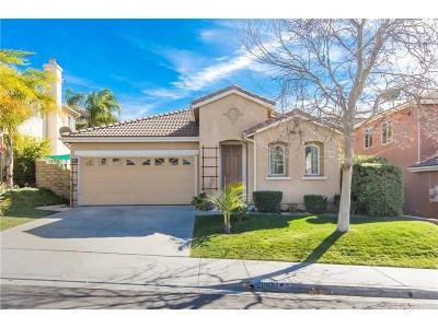 Saugus Single Family Home Active Under Contract: 28426 Santa Catarina Road