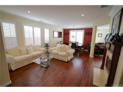 Canyon Country Single Family Home For Sale: 17725 Bentley Manor Place