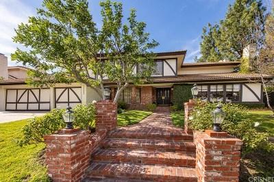 Encino Single Family Home Sold: 18353 Lake Encino Drive