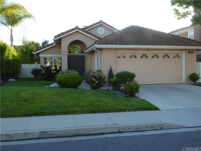 Newbury Park Single Family Home For Sale: 1711 Butterfly Court