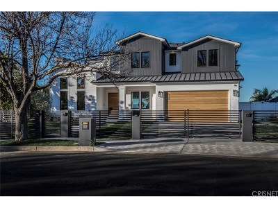 Encino Single Family Home For Sale: 18041 Green Meadow Drive