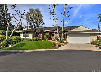 Encino Single Family Home For Sale: 16635 Nanberry Road