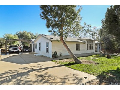 Acton Single Family Home For Sale: 32202 1st Street