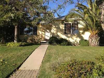 North Hollywood Single Family Home For Sale: 11915 Blythe Street
