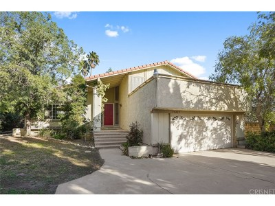 Porter Ranch Single Family Home Active Under Contract: 19429 Singing Hills Drive