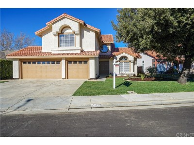 Palmdale Single Family Home For Sale: 3419 Chelsea Court