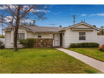 Woodland Hills Single Family Home Active Under Contract: 24330 Victory Boulevard