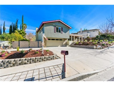 Los Angeles County Single Family Home For Sale: 19237 Friendly Valley