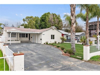 Valley Village Single Family Home For Sale: 12523 Califa Street