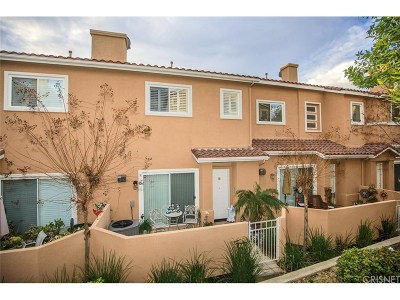 Stevenson Ranch Condo/Townhouse Active Under Contract: 25725 Wagner Way #D