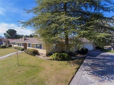 Lancaster Single Family Home For Sale: 44615 Lowtree Avenue